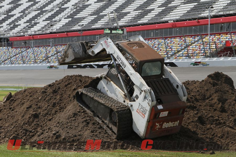 Construction Underway for Carmichael-Designed Daytona Supercross