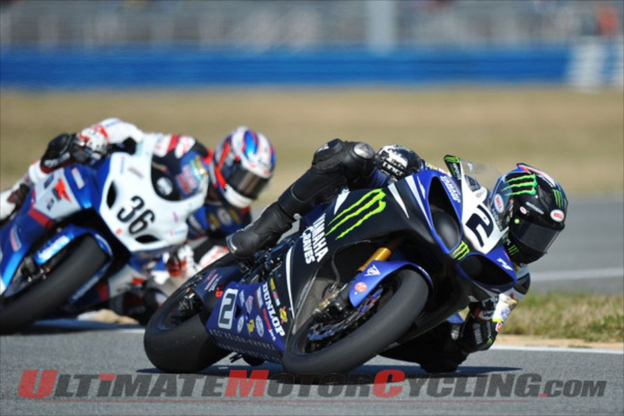 Monster Energy Graves Yamaha's Josh Herrin at Daytona