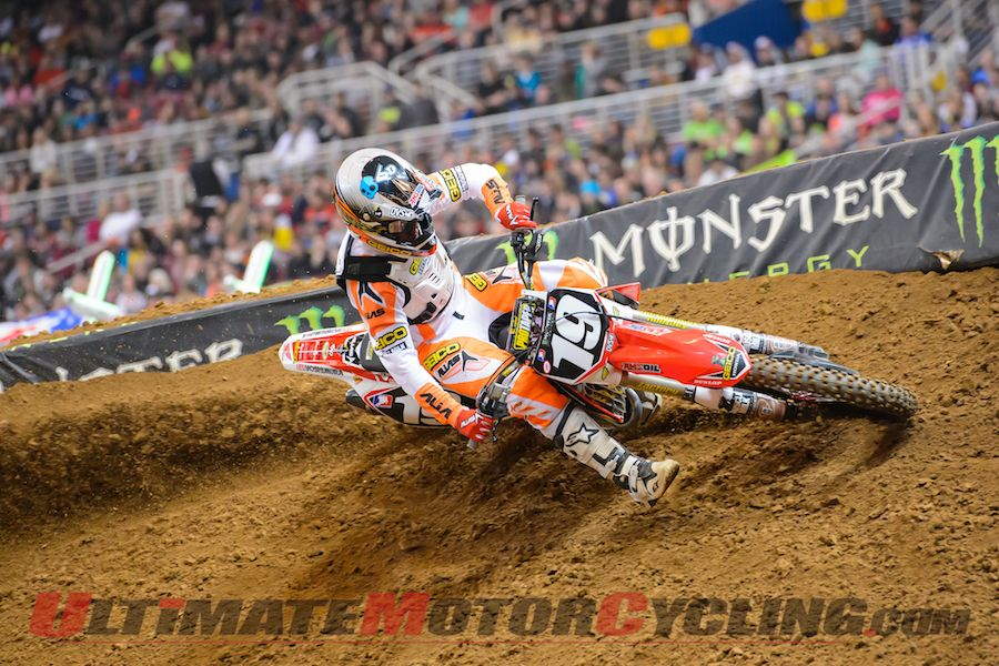 GEICO Honda's Hahn Builds Confidence in Supercross