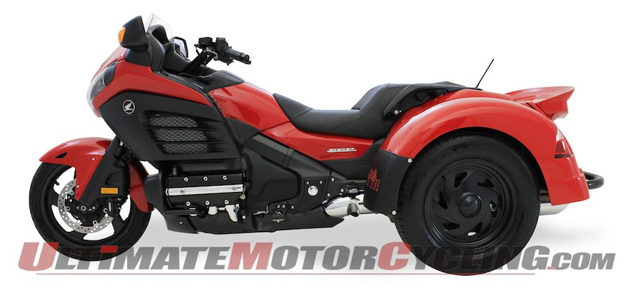 Motor Trike Conversion for Honda Gold Wing F6B