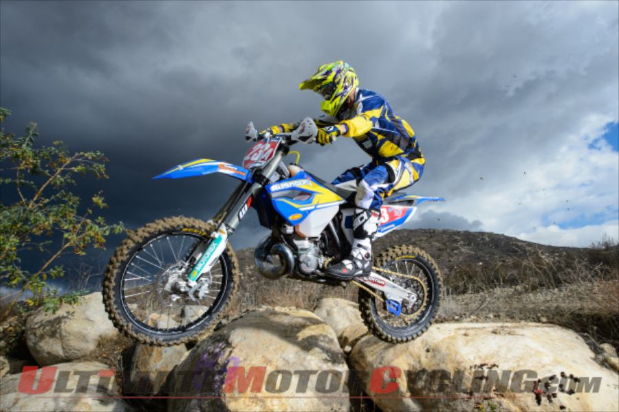 Husaberg's Russell Bobbitt (stock photo; not from Kentucky OMA)
