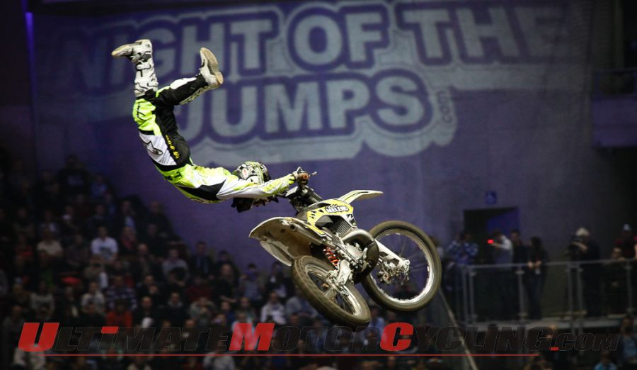 FIM Freestyle Motocross NIGHT of the JUMPS Heads to Munich