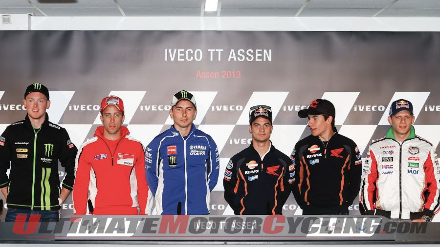 2013 Assen MotoGP | Dutch TT Press Conference