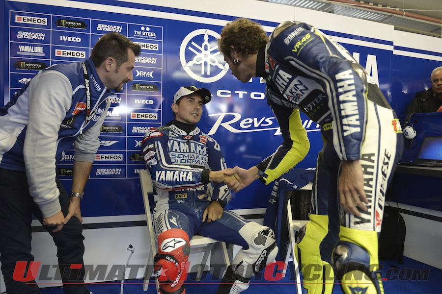 Yamaha's Jorge Lorenzo Returns to Assen