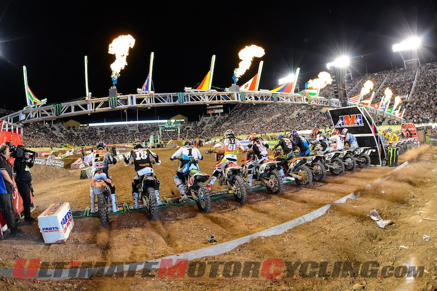 CBS Sports is airing a 2014 Supercross Preview Show on Sunday, Dec. 15