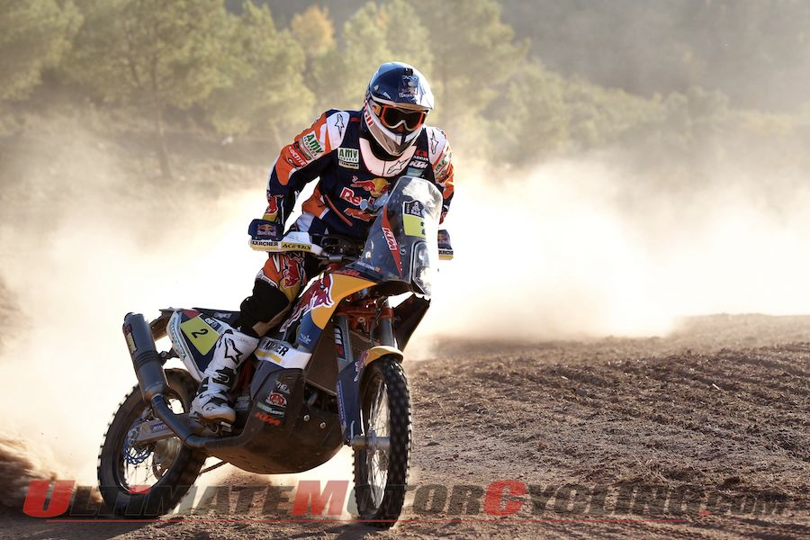Red Bull KTM's Marc Coma
