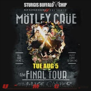 Mötley Crüe to Rock 2014 Sturgis Buffalo Chip with Alice Cooper