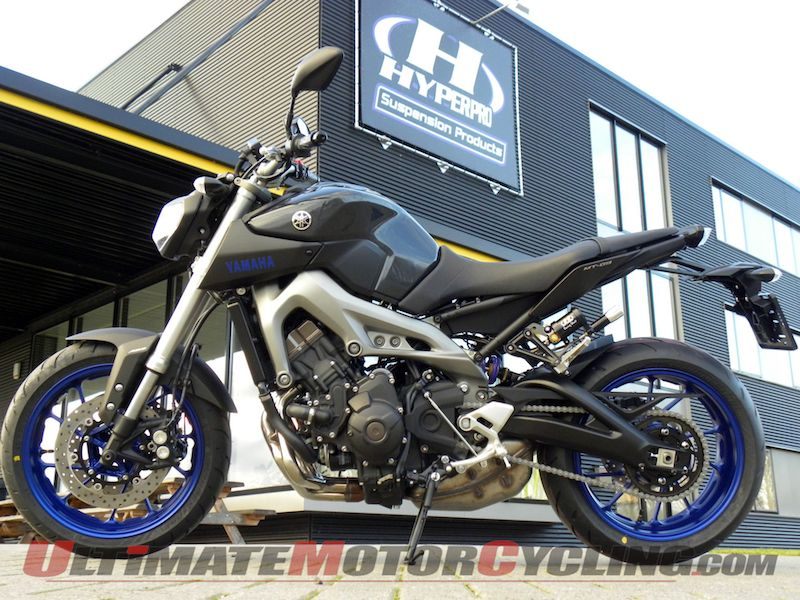 2014 Yamaha FZ-09 with Hyperpro suspension.