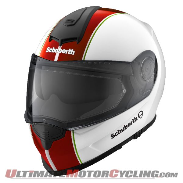 Schuberth Releases Italian Theme Color for S2 Helmet Lineup