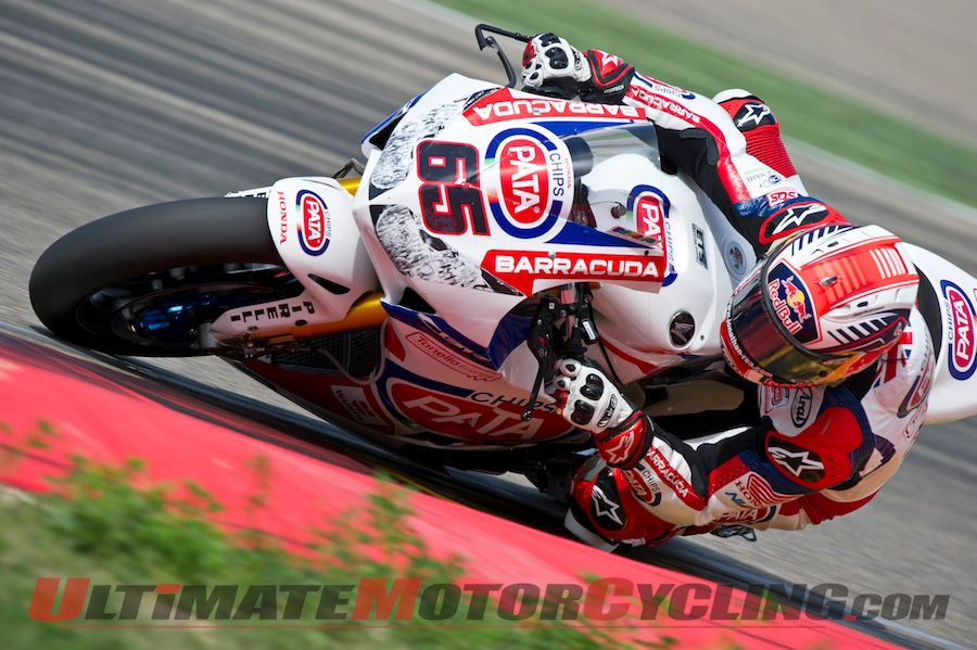 2014 Aragon World Superbike | Honda's Rea Leads Friday Practice