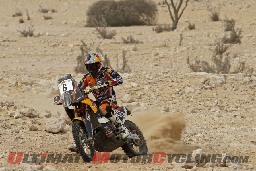 2014 Sealine Rally Day 2 Results | KTM's Sunderland Wins 2nd Leg
