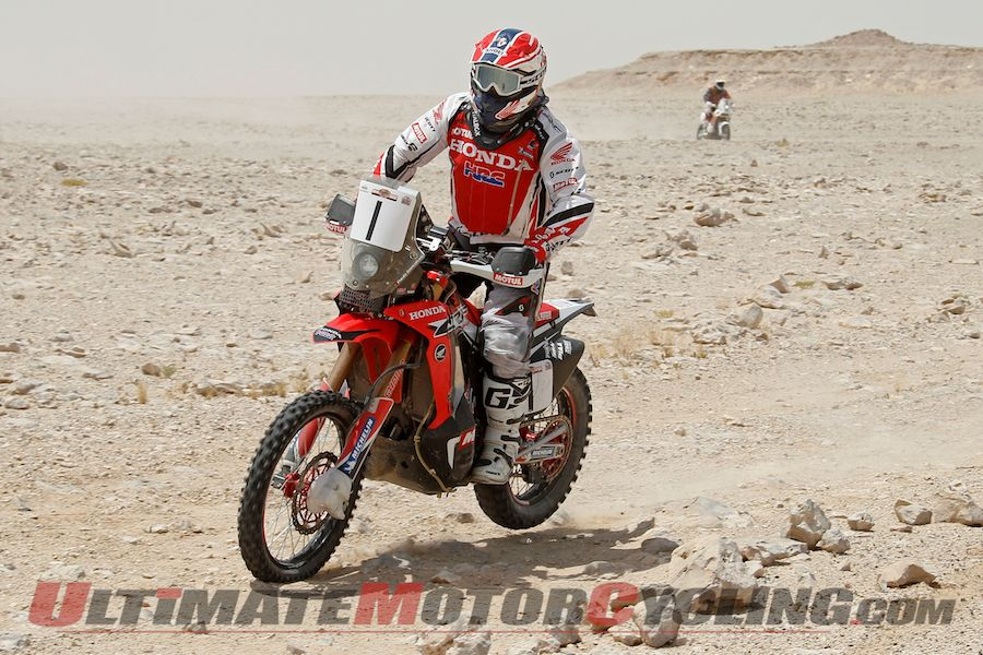 2014 Sealine Rally Stage 4 Results | Honda's Goncalves Earns 1st Win