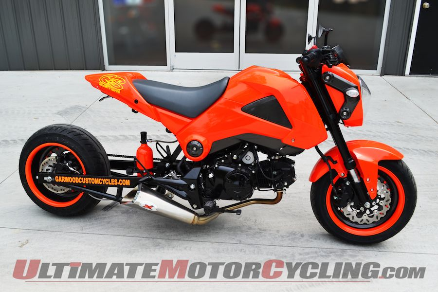 C&S Custom Releases Honda Grom Wide-Tire Kits