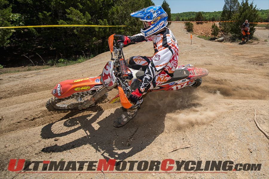 KTM's Charlie Mullins Injured in Practice Crash