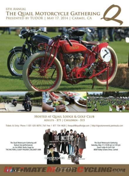 Racer Gloves Meet & Greet with Polen at Quail Motorcycle Gathering