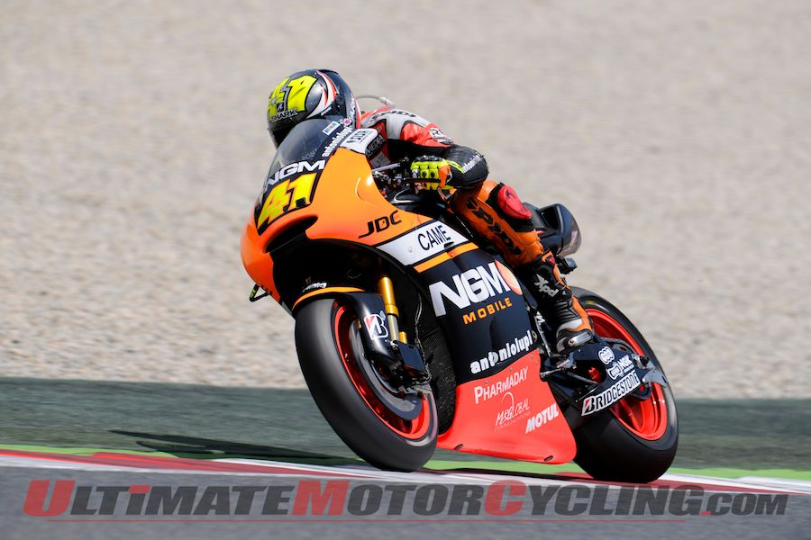 Aleix Espargaro Fastest Friday at Catalunya MotoGP Practice
