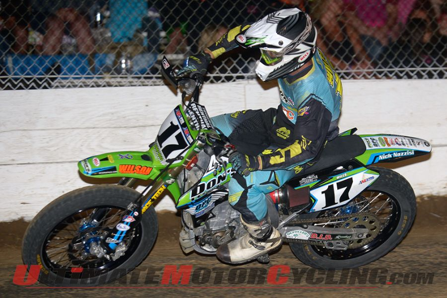 2014 Castle Rock AMA Flat Track Results | Wiles Earns 25th GNC Win