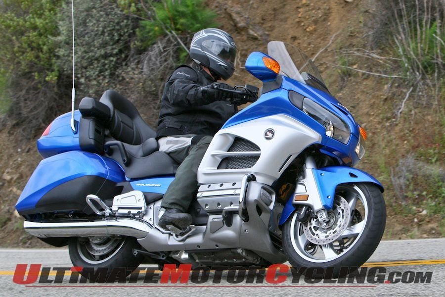 Honda Gold Wing Recalls - 126,000 GL1800 Motorcycles Affected