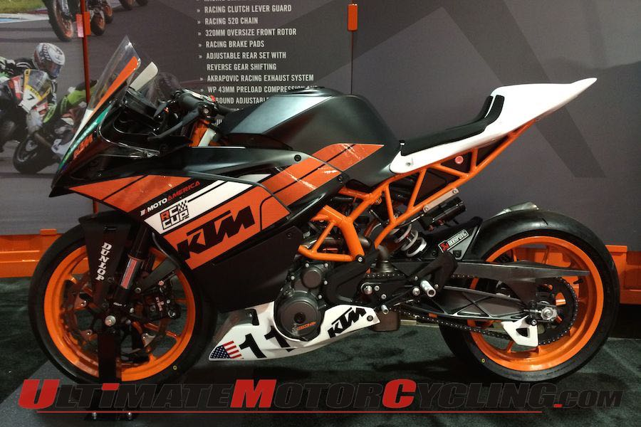 KTM RC 390 Details Released Ahead of 2015 MotoAmerica