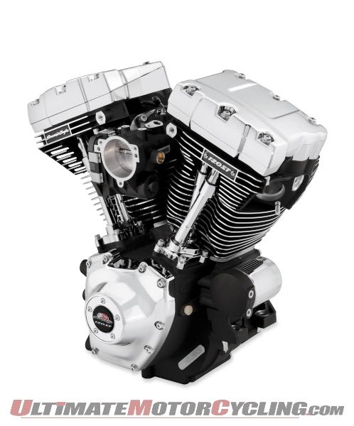 Harley Rolls Out 120CI Screamin' Eagle SE120ST Crate Motor