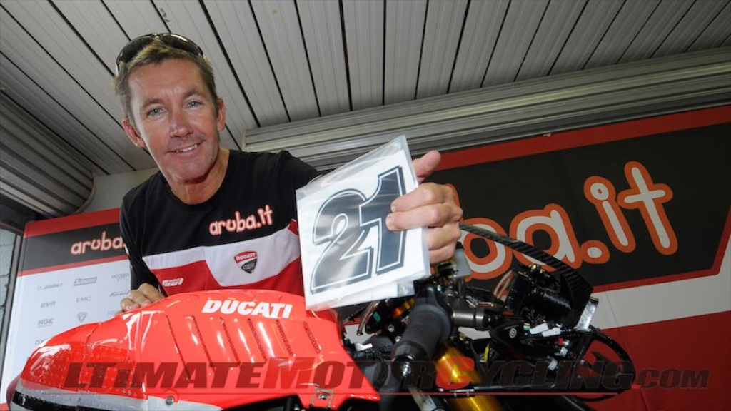 Troy Bayliss Enters AMA Flat Track - On A Ducati, Of Course