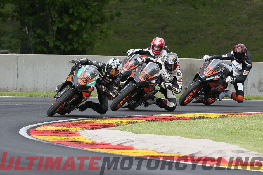 Road America KTM RC 390 Cup Results | McAllister Doubles