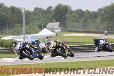 2015 Barber MotoAmerica Supersport Results | Beach Doubles ahead of Herrin and Fong