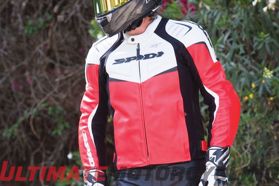 Spidi R/T Leather Jacket Review | Perforated Sportbike Apparel