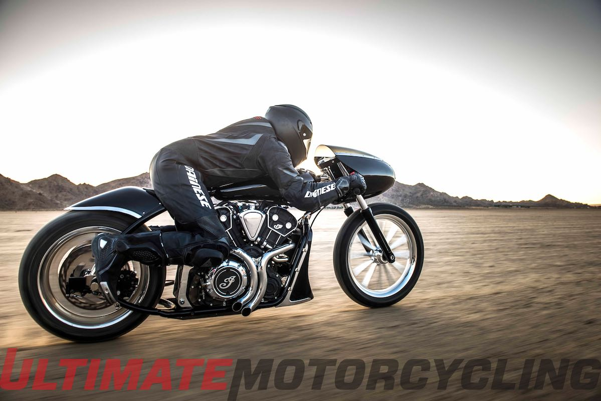 Indian Black Bullet Scout | Jeb Scolman Custom Exposed right side ride