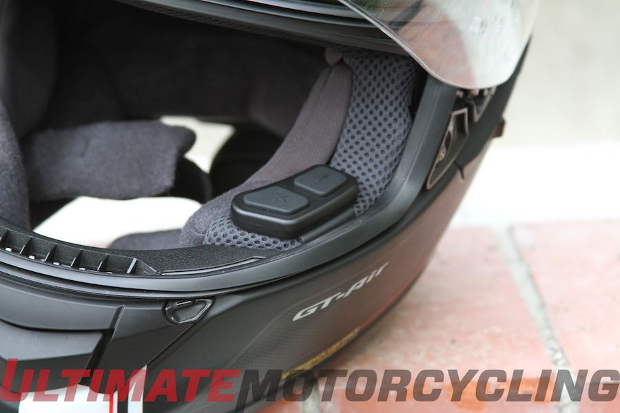 Sena 10U Review | Bluetooth for Shoei & Schuberth Lids view