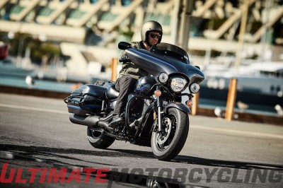 2016 V Star 1300 Deluxe weight