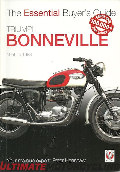 The Essential Buyer's Guide Triumph Bonneville 1959-1988 | Rider's Library