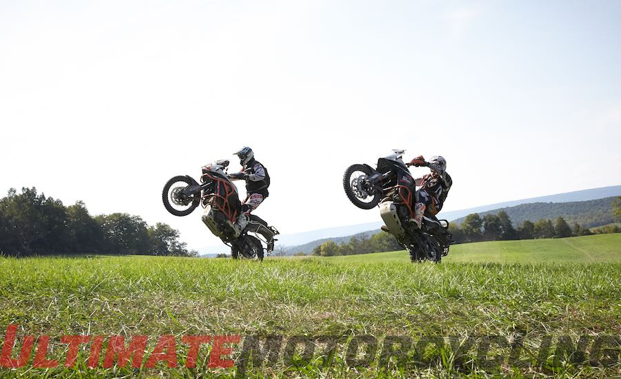 Quinn Cody & Michael Lafferty at 2015 Touratech Rally East