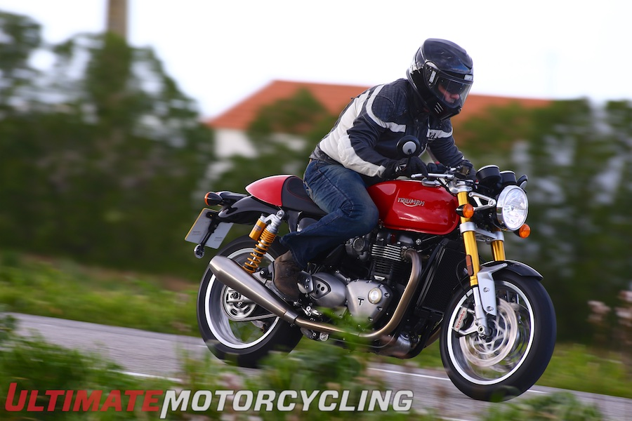 2016 Triumph Thruxton R test review