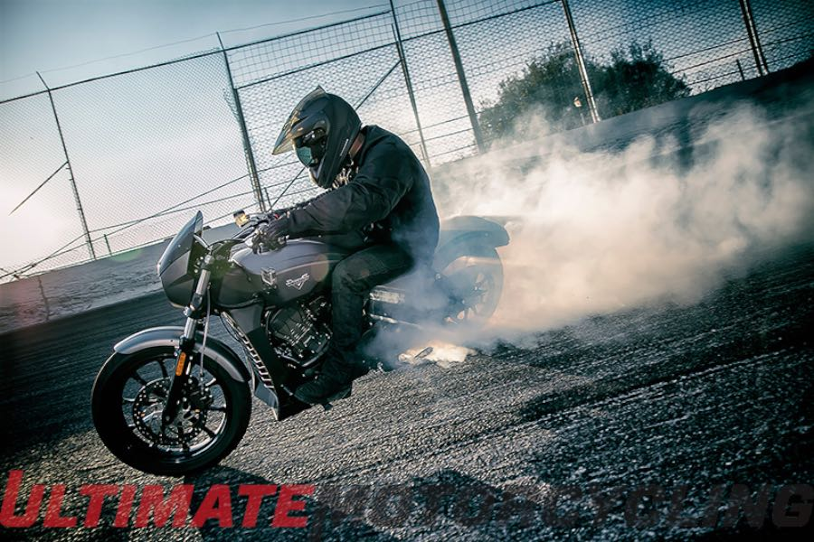 Victory Motorcycles at Daytona| From Record Burnout to Octane Unveiling