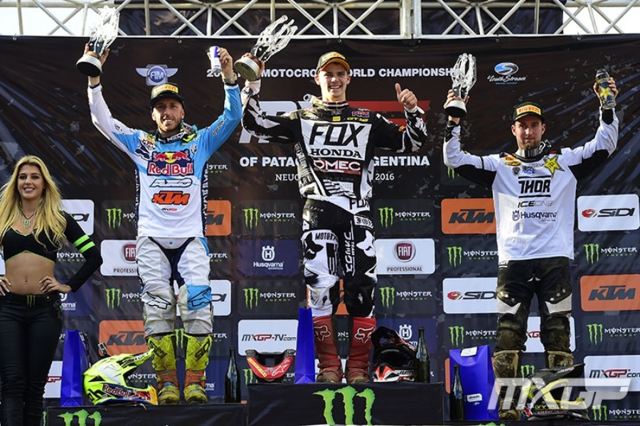 2016 MXGP of Argentina Patagonia Results
