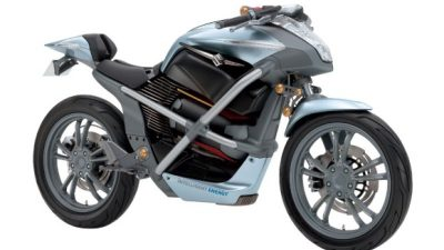 Fuel cell motorcycle by Suzuki