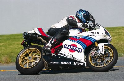Ultimate Motorcycling Ducati 1098 Special in action