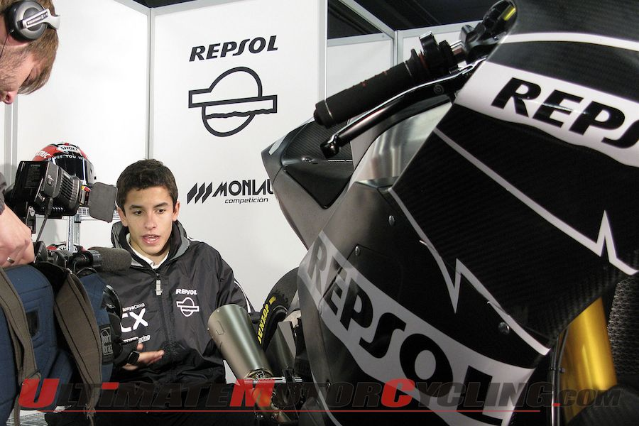Moto2: Marquez Adapts to 600cc Motorcycle