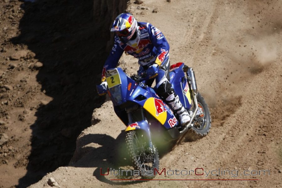2010 Dakar Rally Cyril Despres KTM