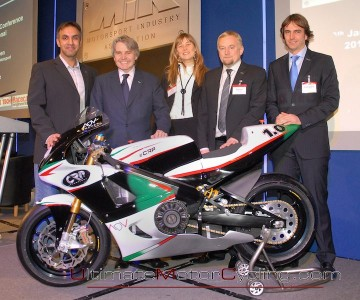 2010 eCRP 1.0 | Electric Superbike
