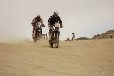 2010 Dakar Rally - Sand battle