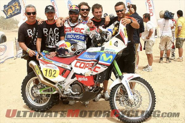 2011 Dakar: Team Giofil Aprilia Preview