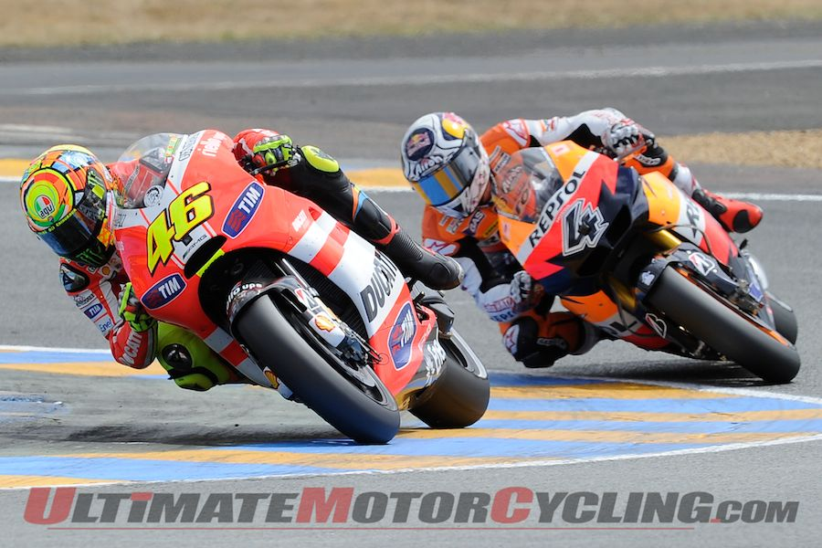 Rossi Looks to Capture Catalunya MotoGP
