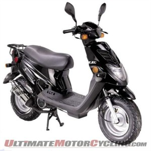 E-Ton Recalls Beamer/Matrix Scooters