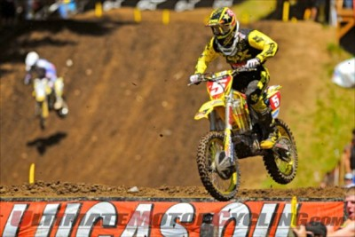 Air National Guard Joins AMA Motocross