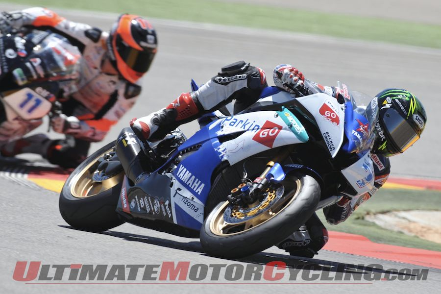 Yamaha's Davies Wins Aragon Supersport