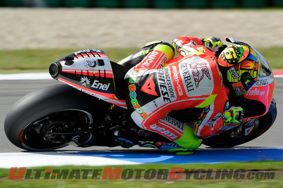 MotoGP: Rossi Eleventh on Assen Grid