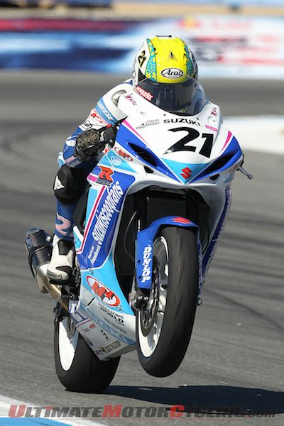 Suzuki's Myers Fifth at Laguna SuperSport