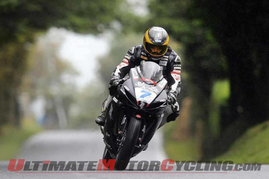 Ulster Grand Prix: Guy Martin SBK Pole